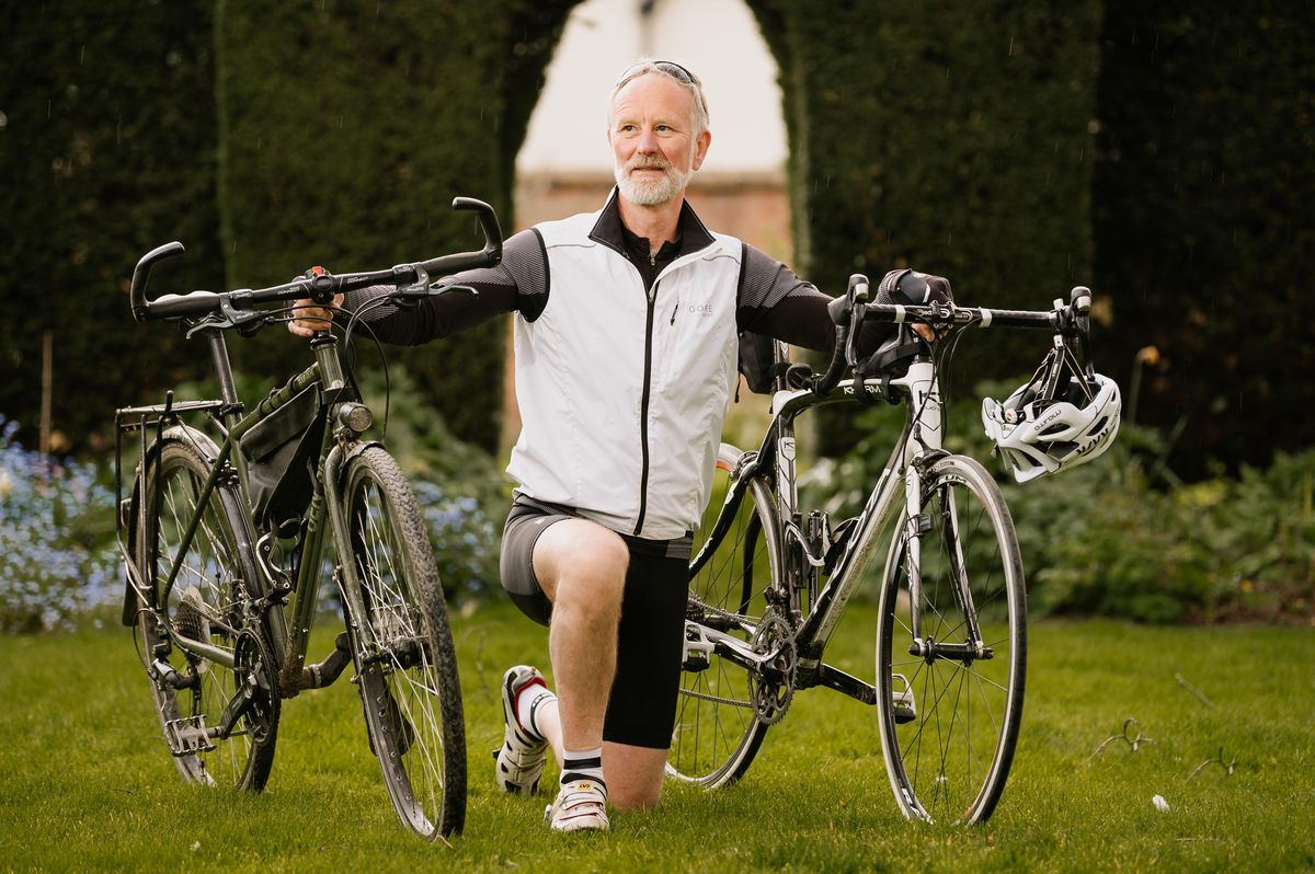 Larry King will be cycling from Shropshire's A to Z for a good cause