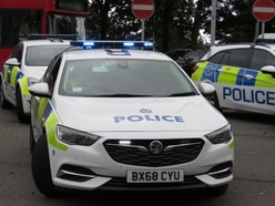 Crash at A5 junction in Oswestry