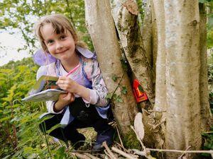 Talia Ellis, 6, from Knighton