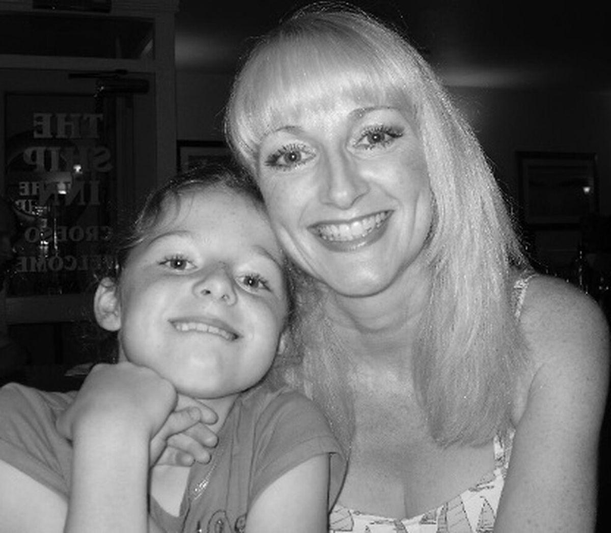 Cheryl Hooper and her daughter Georgia