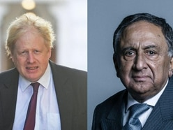 I'm under attack by fellow Tories because I challenged Johnson, says Muslim peer