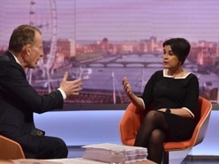 Andrew Marr tells senior Labour figure 'don't patronise me' in tense interview