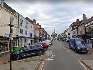 The High Street was closed. Photo: Google