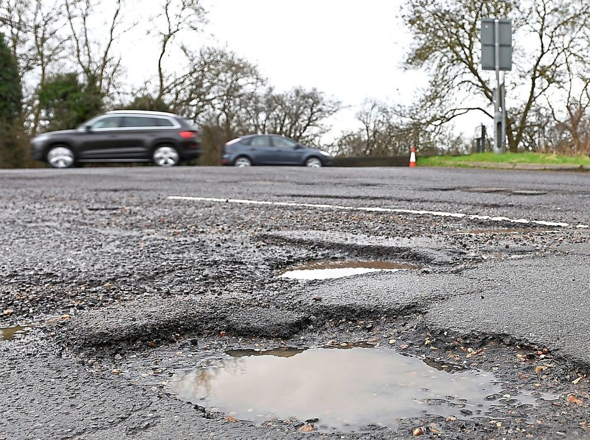 Ludlow MP to lobby for sooner funding to fix Shropshire's pothole-ridden roads