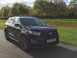 The Ford Edge makes its presence known on the open road