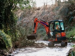 Storm Dennis: Landslide floods Bridgnorth home with mud, water and rubble
