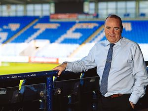 SHREWS COPYRIGHT SHROPSHIRE WEEKLY SHROPSHIRE STAR JAMIE RICKETTS 22/05/2018 - Interviews with Omar Beckles and CEO Brian Caldwell at Shrewsbury Town Football Club...In Picture: CEO Brian Caldwell...