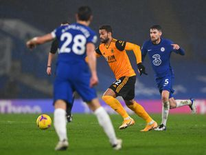 New loan signing Willian Jose was given a taste of the action in the goalless draw at Chelsea on Wednesday night (AMA)