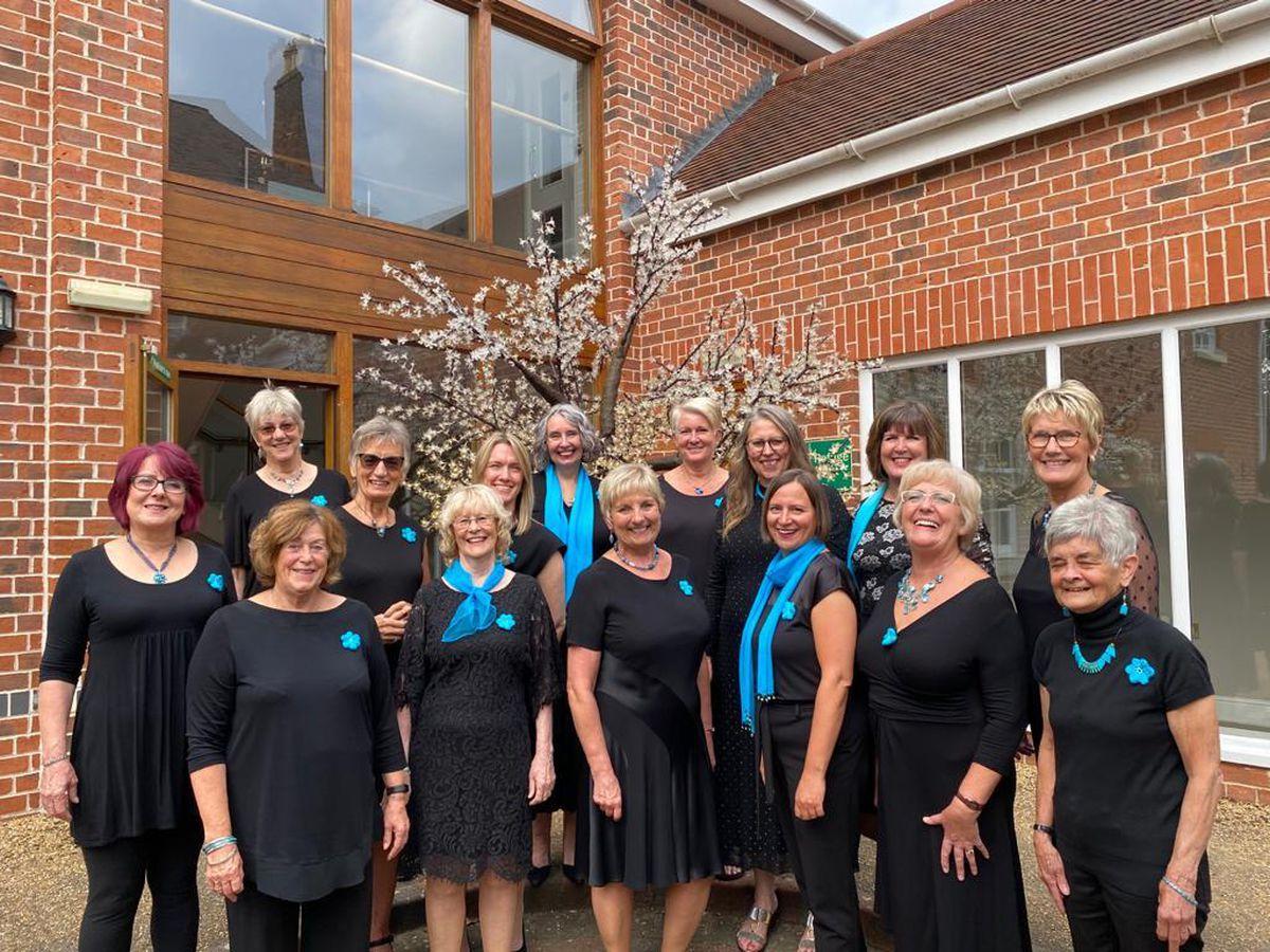 The Severn Harmony Ladies Barbershop choir