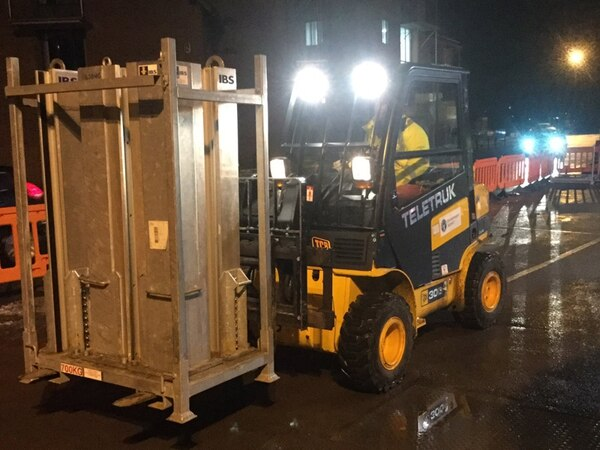 Barriers are up in Shrewsbury as six flood alerts in place for Shropshire
