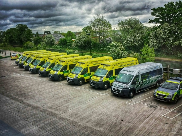 Pride as West Midlands Ambulance Service rated 'outstanding'