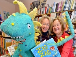 Giant of an adventure as Zig Zag book is launched in Shropshire - with video