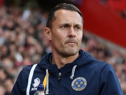 Paul Hurst's agent claims there has been interest and contact from Shrewsbury Town about return