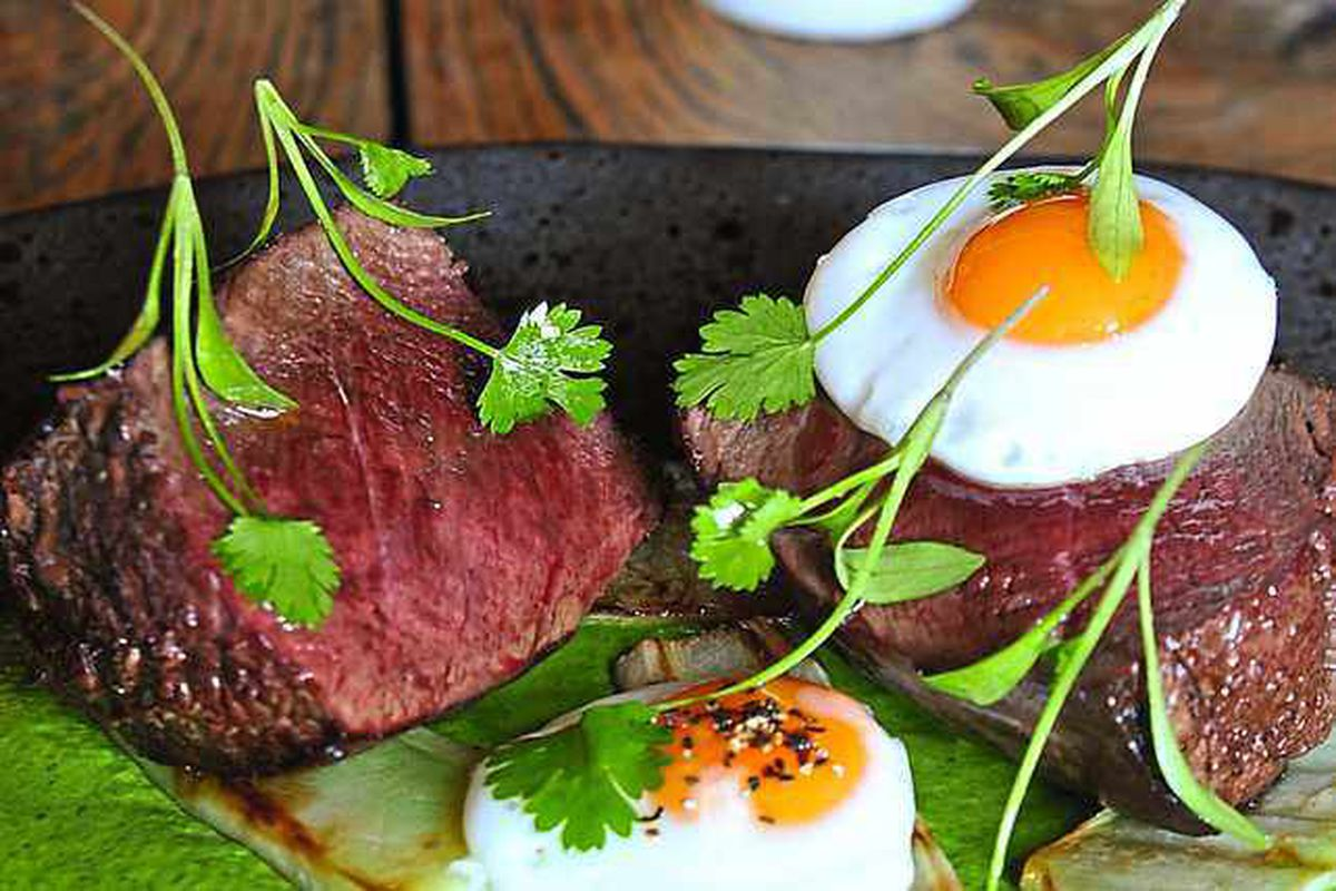 It's no yolk my deer – venison and egg main course