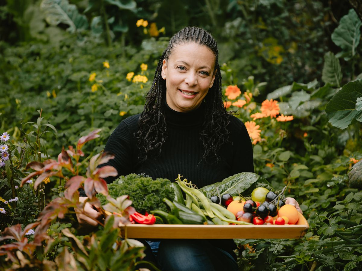 Theresa Welch, of the Homegrown Gardening Group, which is blossoming