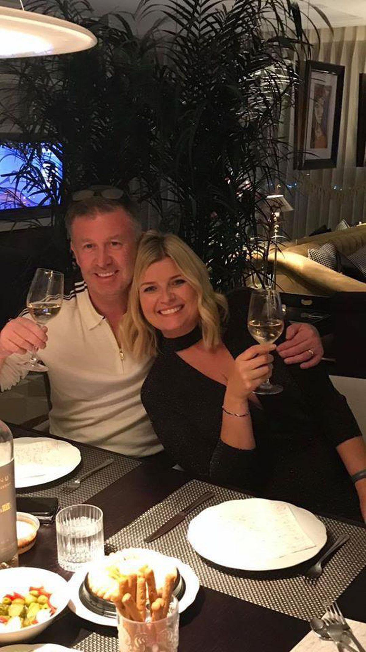 Steve Froggatt and his wife Julie