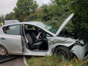 The accident happened on Bridgnorth Road, near Shipley