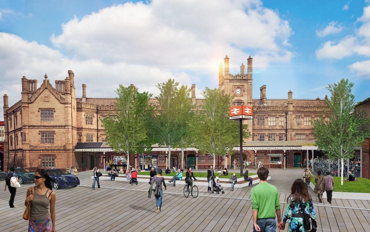 The new look of Shrewsbury under the Big Town Plan
