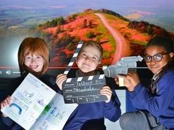 WATCH: Telford in the spotlight as children make celebratory film