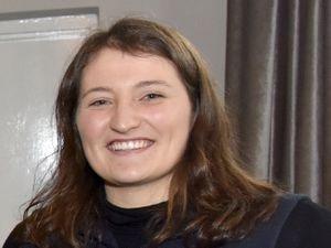 Rachel Cooper of Shropshire YFC.