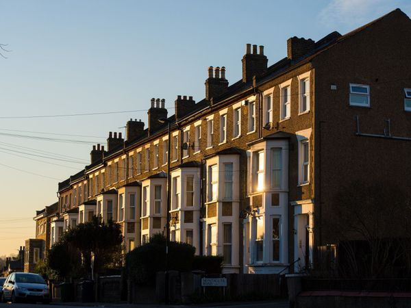 View of terraced houses