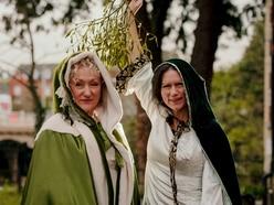 Festive fun at Tenbury Wells mistletoe festival