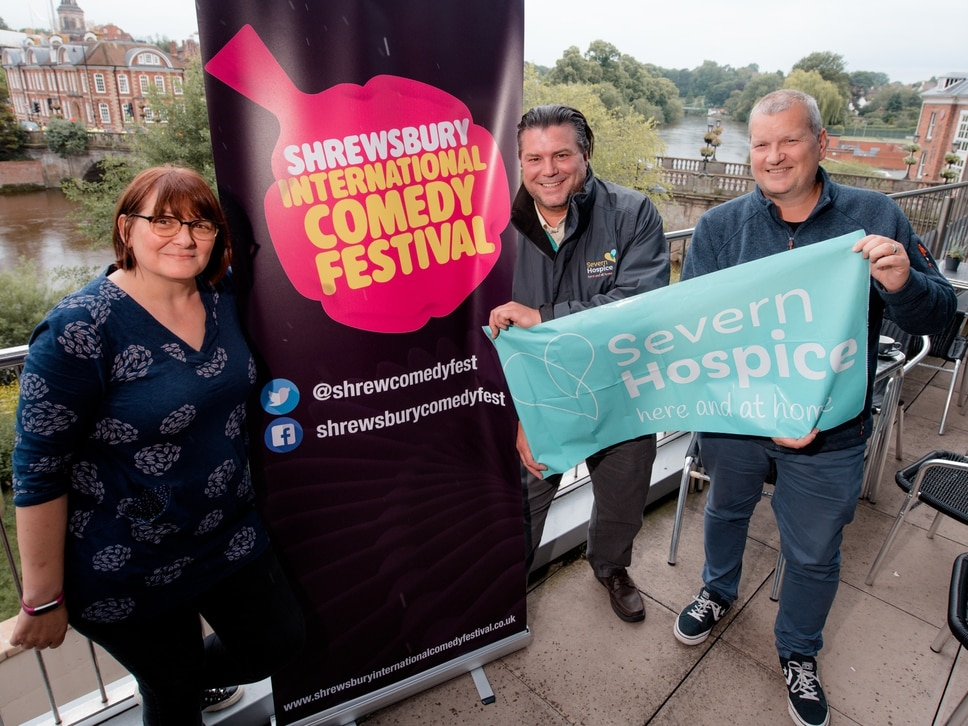 Shrewsbury Comedy Festival to support local charity