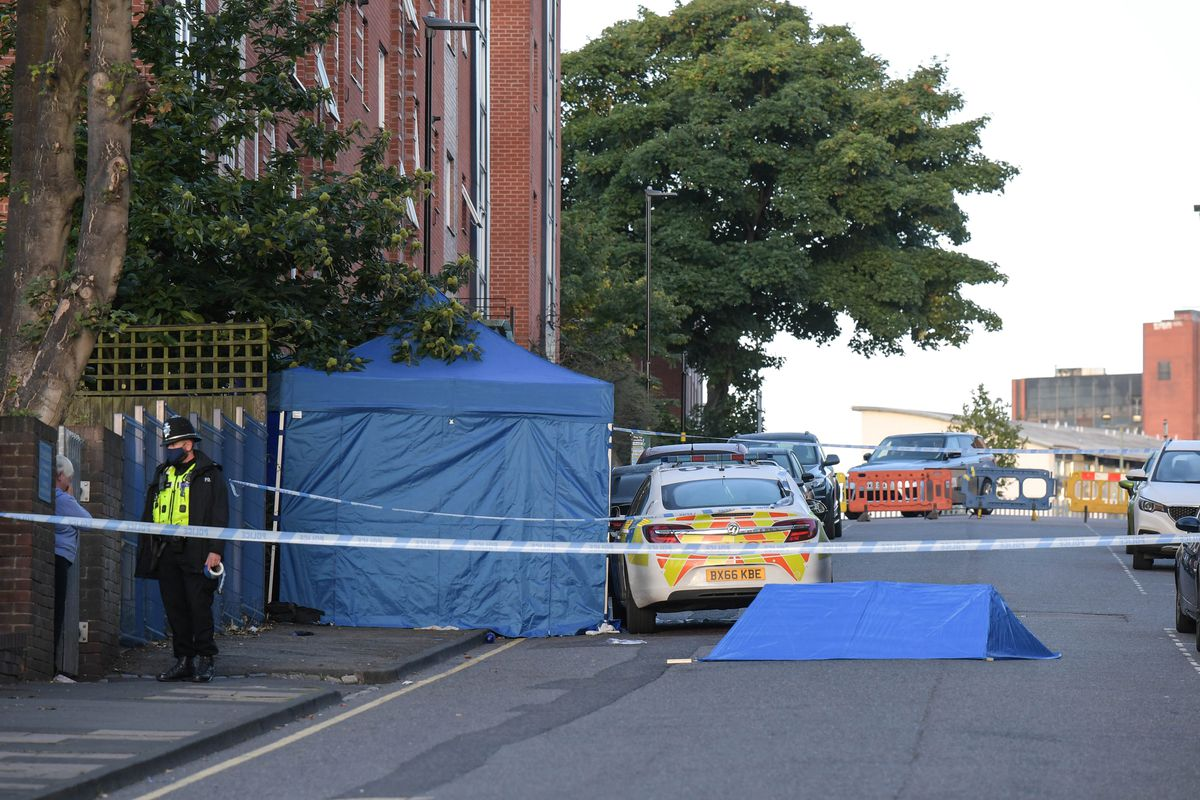 Police have declared a major incident in the city centre. Photo: SnapperSK
