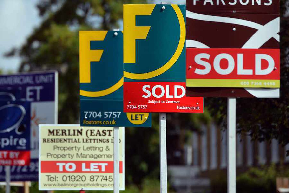 Shropshire house prices eight times the average wage