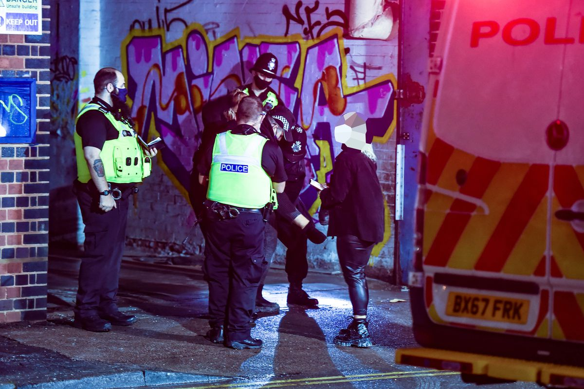 Each raver was given a £200 fine by police. Photo: SnapperSK