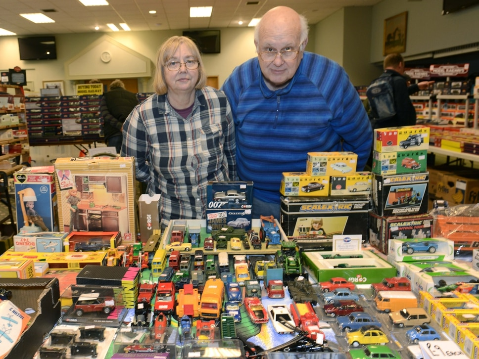 Crowds roll in for Ludlow toy and train fair