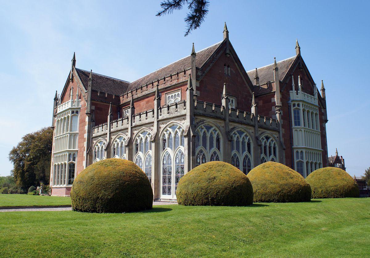 """Jewel-like"" – Longner Hall near Shrewsbury."