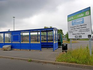 Harlescott park and ride will be temporarily closed