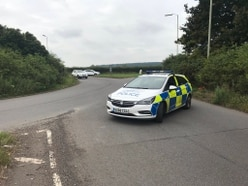 Woman and baby taken to hospital after lorry crash closes A41 near Newport