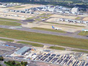 Gatwick Airport – stock