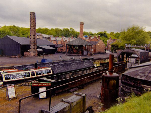 The Black Country Living Museum in Dudley