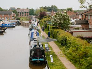 The Canal and Rivers Trust has shortened the duration of the work in Market Drayton after concerns over its impact