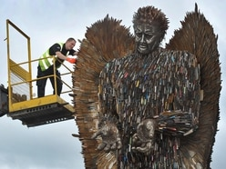 Education call to future host cities as Knife Angel returns home