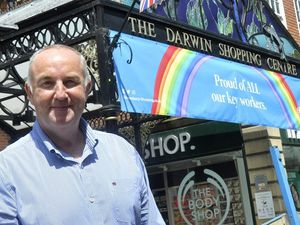 Shrewsbury shopping centres manager Kevin Lockwood