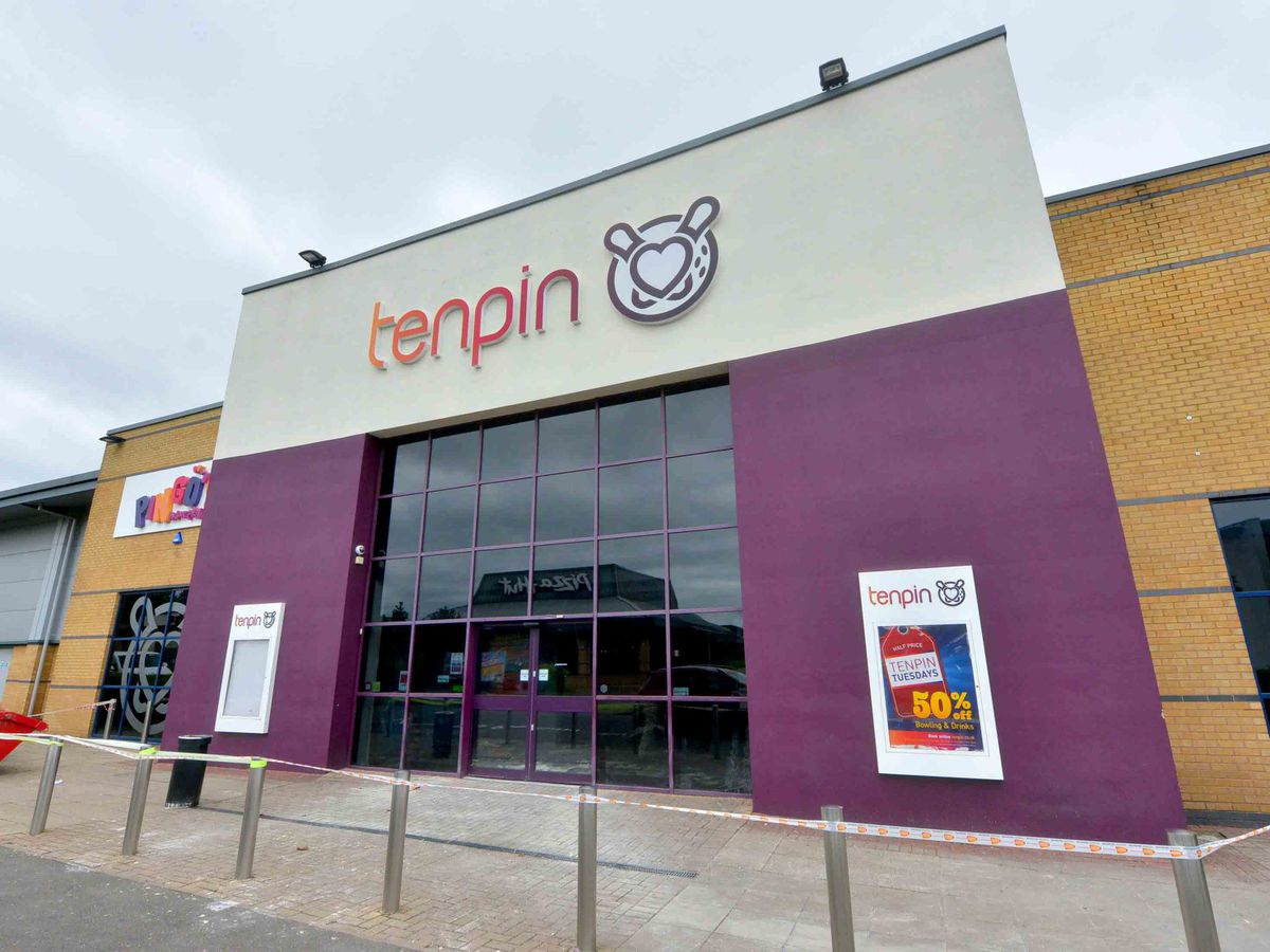 The Tenpin at Castlegate Park in Dudley