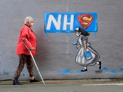 Uplifting news: Murals honouring NHS staff and a dinosaur roaming the streets
