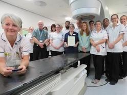 Hospital team scoops major award