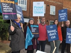 Strikes at Shrewsbury colleges over higher education funding
