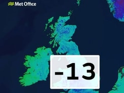 MINUS 13C: Shropshire is the coldest place in the country