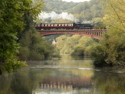 Perfect setting for steam journey on Severn Valley Railway