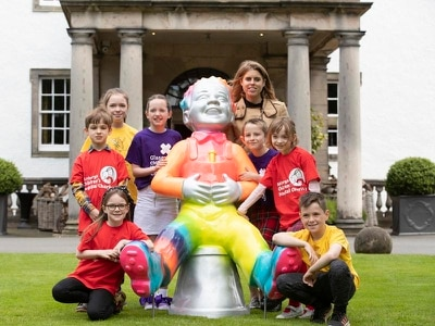 Princess Beatrice launches Oor Wullie charity tourist trail
