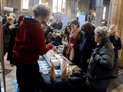 Choc-a-block at Shrewsbury Chocolate Festival - with pictures