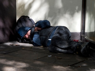 Shutters and CCTV planned in response to rough sleeping in Wellington
