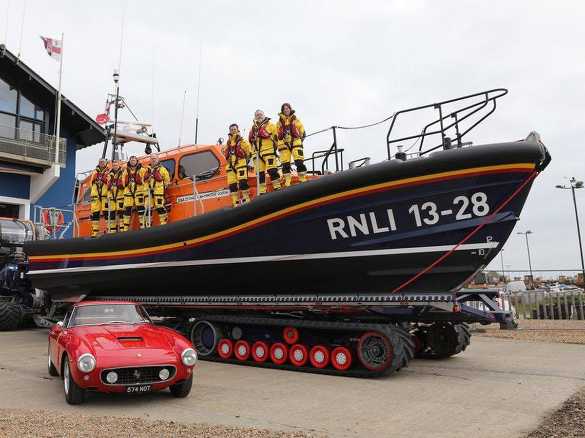 The sale of two classic Ferraris funded an all-new lifeboat