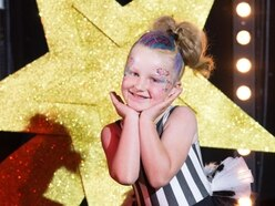 Telford schoolgirl Skyla stars at celebration for kids with cancer - with video